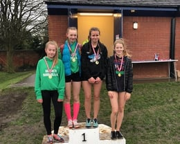 U15 Girls relay winners